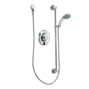 moen pressure balancing hand shower system t8346ep15