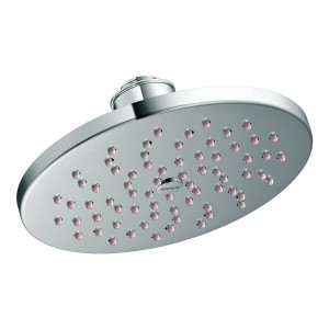 moen single function rainshower showerhead s6360 8 inch