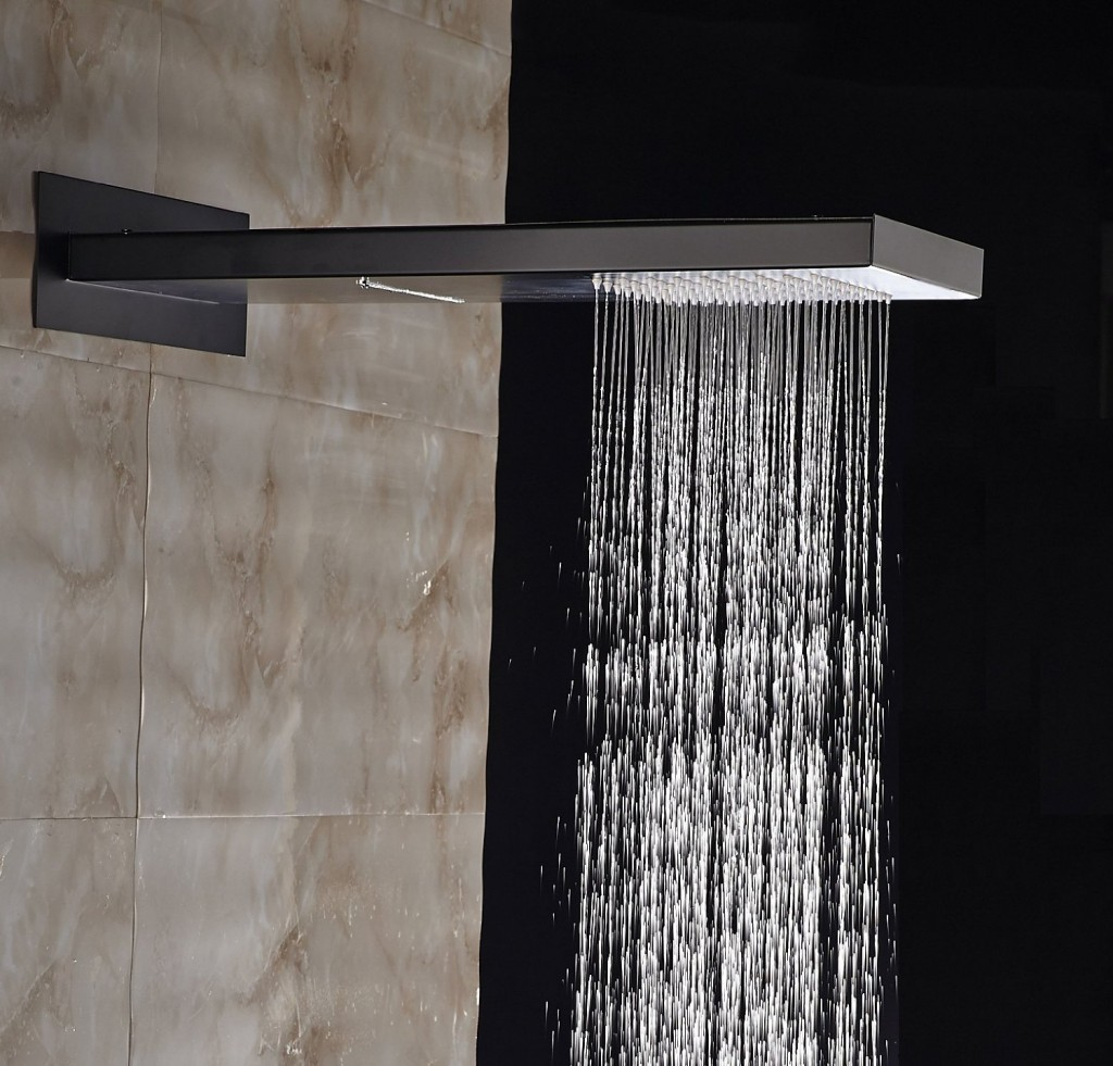 Rozinsanitary Rain Waterfall Bathroom Showerhead - Best Shower Heads ...