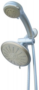 waterfall by conservco multnomah showerhead combo pack ws m5c c