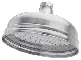 westbrass 4 3 4 inch brushed nickel rain showerhead