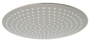 yodel 16 inch brushed stainless rainfall shower head