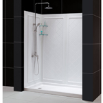 dreamline infinity frameless sliding shower door 5