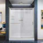 dreamline infinity z 30 inch frosted sliding shower door