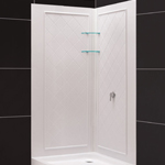 dreamline prime frameless sliding shower enclosure 3
