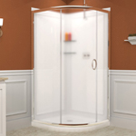 dreamline solo frameless sliding shower enclosure 2