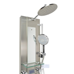 blue ocean stainless steel thermostatic shower panel 2