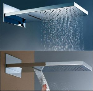 "Baiyu Sino003524 22"" Waterfall and Rainfall dual shower HM-2201"
