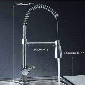 Detroit Bathware DJ88745 LED Kitchen Sink Swivel Faucet
