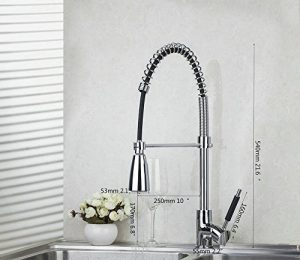 Detroit Bathware LED Kitchen Sink Faucet 598741