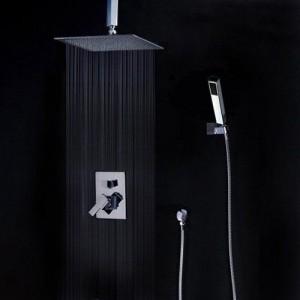 guma 10 inch ceiling mounted handheld showerhead az 210