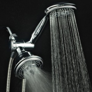 hydroluxe ultra luxury 3 way 2 in one showerhead 1433