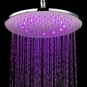 ltyu faucets led colors chrome showerhead b0166exmz8