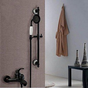 ltyu faucets oil rubbed wall mount handheld shower b0166ezhb0