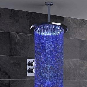 qqi faucet 10 inch chrome thermostatic valve shower b0165h5xk8