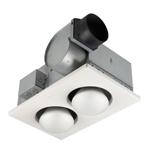 broan 164 bulb ventilation heater bath fan with lights 10