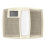 broan ultra silent series bath fan with heater and light 1