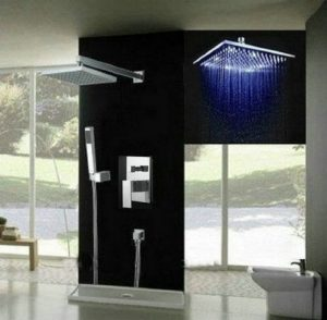 Detroit Bathware Ys-7592 Luxury 8-inch LED Showerhead