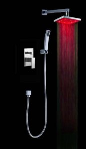 "Fontana BST-LED6106-10 Luxury 10"" Rainfall Shower Set"