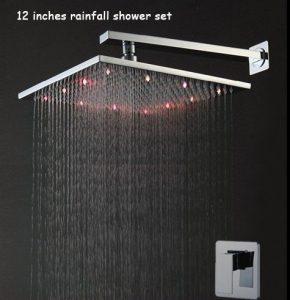 Fontana BSTLED6109-12 Multi Color Shower Set