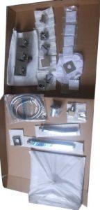 "Fontana HDD906 Cascada 10"" Water Power LED Shower"