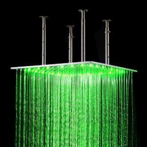 """Fontana HDD909A Cascada 20"""" Water Power LED Shower Set"""