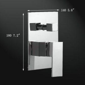 "Fontana HDD916 Luxury 12"" Rainfall Square LED Shower Set"