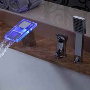 Lightinthebox LED Color Changing Single Handle Handheld Shower 351290