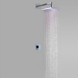 Rozinsanitary 12 Inch Oil Rubbed Bronze LED Rainfall Showerhead