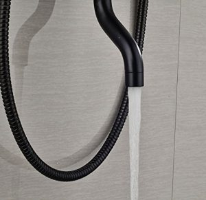 Rozinsanitary 8 Inch LED Light Rainfall Shower Faucet
