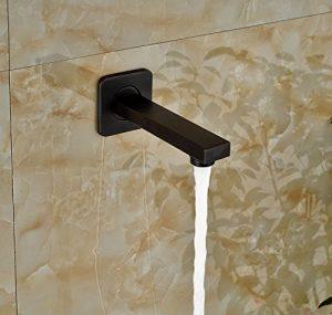 Rozinsanitary 8 Inch LED Light Wall Mounted Rainfall Showerhead