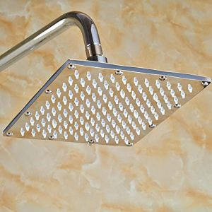 Senlesen SE3860 8 Inch Led Chrome Tub Spout HandShower