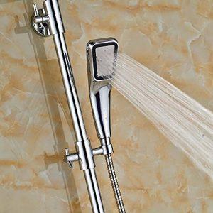 Senlesen SE4113 Single Handle LED Light 10 Inch Rainfall Shower