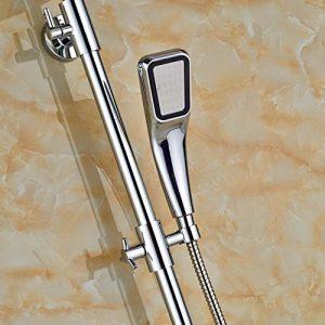 Senlesen SE4114 8 Inch Polished Chrome Wall Mount Handshower