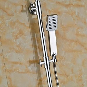 Senlesen SE4233 Led 16 Inch Wall Mount Chrome Rainfall Showerhead