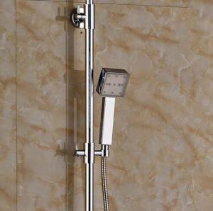Senlesen SE4235 10 Inch Led Chrome Brass Handshower