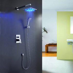 Sprinkle 240100 Color Changing LED Lighting Handheld Rainfall Shower
