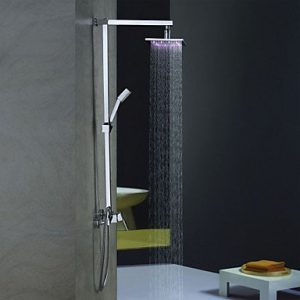 Sprinkle Faucets 8 Inch Color Changing LED Hand Showerhead