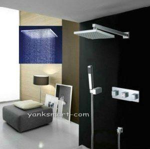 Detroit Bathware Ys-7603 Yanksmart 10-inch LED Showerhead