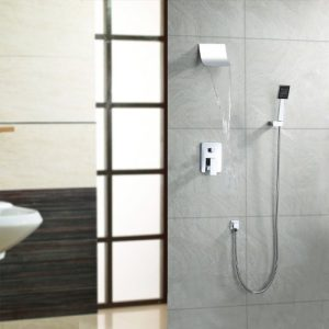 LightInTheBox Single Handle Contemporary Waterfall Shower #229651