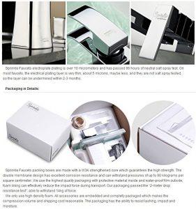 Lightinthebox 12 Inch LED Stainless Wall Mount Rainfall Showerhead