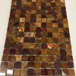 red onyx polished mosaics meshed 1