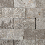silverado gray marble split faced mosaic tile 8