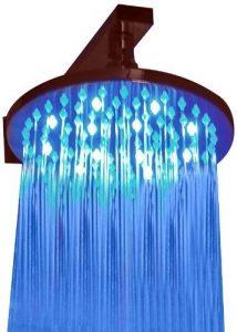 ALFI LED5002 8-Inch Multi Color LED Rain Showerhead