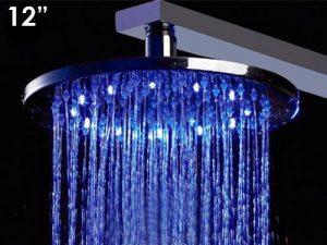 ALFI LED5007 Multi Color LED Rain Showerhead