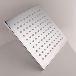 "Detroit Bathware 45421 12"" Square LED Rain Showerhead"