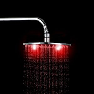 "Detroit Bathware KJ76 Yanksmart 10"" Temperature Sensitive Showerhead"