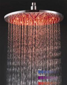Detroit Bathware Ys-1714 10 - Inch LED Rainfall Showerhead