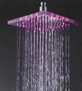 Detroit Bathware Ys-1716 Yanksmart 10 - Inch LED Rainfall Showerhead