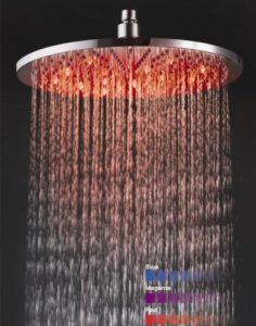 Detroit Bathware Ys-1728 12 - Inch LED Rainfall Showerhead